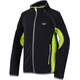 Regatta Pira Fleece Jacket Kids Seal Grey/Lime Zest
